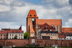Old Town of Torun in Poland Stock Image