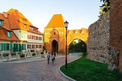 Old Town in Torun, Poland Royalty Free Stock Photos