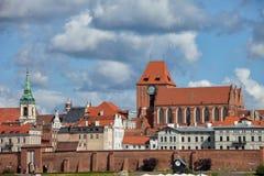 Old Town of Torun in Poland Royalty Free Stock Photo