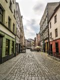 Old town Torun street Royalty Free Stock Image