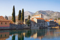 Old Town of Trebinje view. Bosnia and Herzegovina stock photos