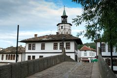 Old town Triavna, Bulgaria Royalty Free Stock Image
