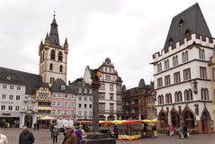 Old Town of Trier Royalty Free Stock Photos