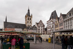 Old Town of Trier Stock Photography
