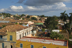 Old town, Trinidad, Cuba Royalty Free Stock Images