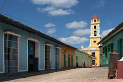Old town of Trinidad, Cuba Stock Image