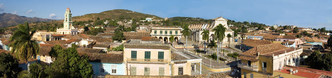 Old town Trinidad, Cuba,  Panorama (2) Royalty Free Stock Image