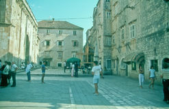 Old Town of Trogir, Croatia. Royalty Free Stock Photos