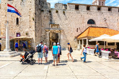 Old town Trogir 2 stock photos