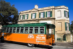Old Town Trolley Tours Royalty Free Stock Photo