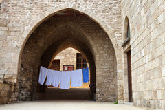 Old town in Tyre. Lebanon, Middle East Stock Photography