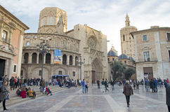 Old town of Valencia, Spain Royalty Free Stock Image