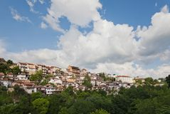 Old town Veliko Tarnovo in Bulgaria Royalty Free Stock Photo