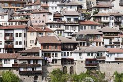 Old town Veliko Tarnovo in Bulgaria Stock Photos