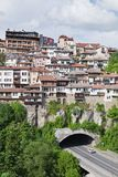 Old town Veliko Tarnovo in Bulgaria Stock Images