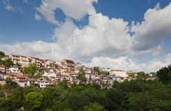 Old town Veliko Tarnovo in Bulgaria Stock Image