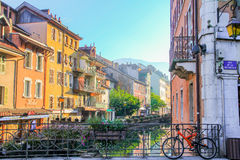 Annecy old town, France Royalty Free Stock Photo