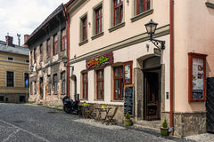 Old Town view in Bielsko-Biala Stock Photos