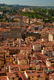 Old town view Florence. View over old town Florence from cathedral, Italy Stock Photography