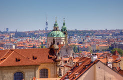 Old town view in Prague, Czech. Royalty Free Stock Image