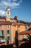 Old town of Villefranche-sur-Mer Royalty Free Stock Images