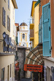Old town in Villefranche-sur-Mer Royalty Free Stock Photo