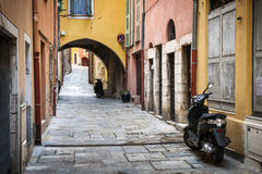 Old town in Villefranche-sur-Mer Stock Images