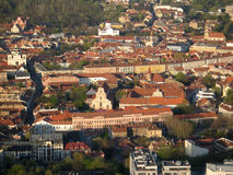 Old town of Vilnius (Lithuania) Royalty Free Stock Photography