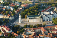 Old Town of Vilnius, Lithuania Stock Photography