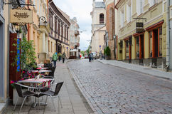 Old Town, Vilnius, Lithuania Stock Photography