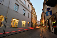The Old Town of Vilnius, Lithuania Stock Image