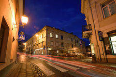 The Old Town of Vilnius, Lithuania Royalty Free Stock Photography