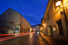 The Old Town of Vilnius, Lithuania Royalty Free Stock Photo