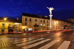 The Old Town of Vilnius, Lithuania Stock Photo