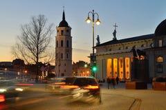 The Old Town of Vilnius Stock Photos