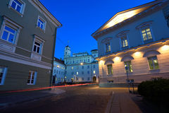 The Old Town of Vilnius Royalty Free Stock Images