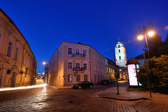 The Old Town of Vilnius Royalty Free Stock Photos