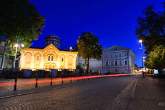 The Old Town of Vilnius Stock Image