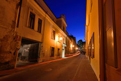The Old Town of Vilnius Stock Images