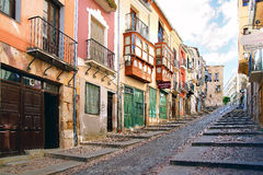 The old town vintage architecture in Zamora . Royalty Free Stock Image