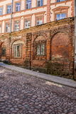 Old town in Vyborg Stock Images