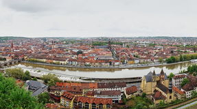 Old Town of Würzburg Stock Photography