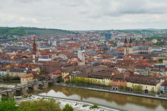 Old Town of Würzburg Royalty Free Stock Images