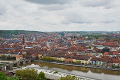 Old Town of Würzburg Stock Images