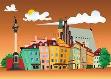 Free Old Town Warsaw Stock Image - 13196641