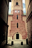 Old Town of Warsaw. Dark corners of  Warsaw's Old Town -  Poland Stock Images