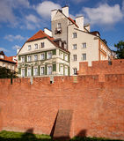 Old Town of Warsaw Stock Photos