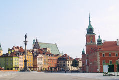 Old town, Warsaw Stock Photography