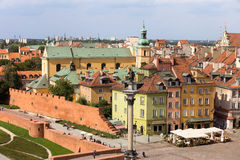 Old Town in Warsaw Stock Photography