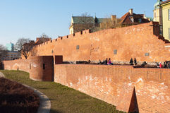 Old town of Warsaw Royalty Free Stock Image